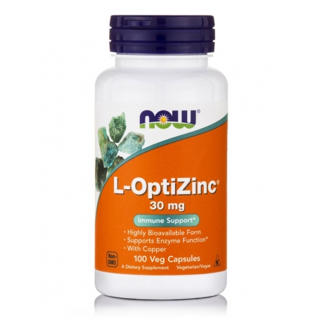L-OptiZinc® 30 mg Veg Capsules
