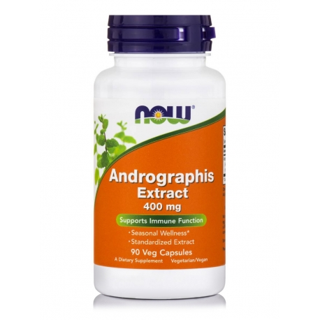Andrographis Extract 400 mg Veg Capsules