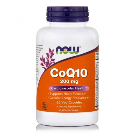 CoQ10 200 mg Veg Capsules