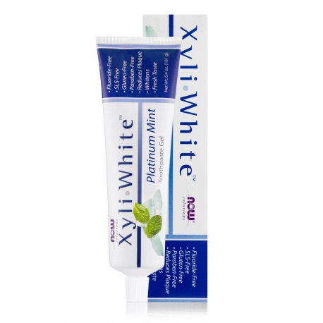 XyliWhite™ Platinum Mint Toothpaste Gel with Baking Soda